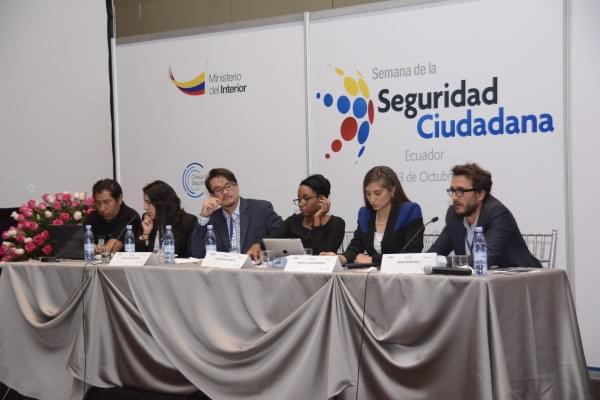 Humanitas360 presents innovative social technology at IDB Citizens Security Week in Ecuador