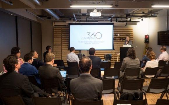 Líderes de América Latina debaten sobre la innovación y los ecosistemas públicos en la Reunión Anual de la Junta Asesora Mundial