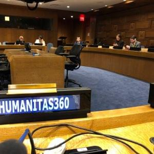 H360 presents cooperatives of inmates at UN event in NY