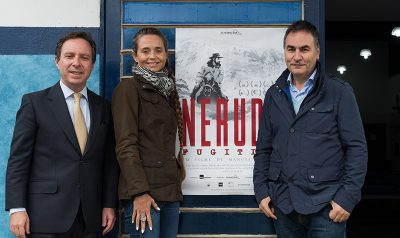 """H360 Brings Exclusive Screenings of """"Neruda"""" to Brazil with the Presence of Director Manuel Basoalto"""