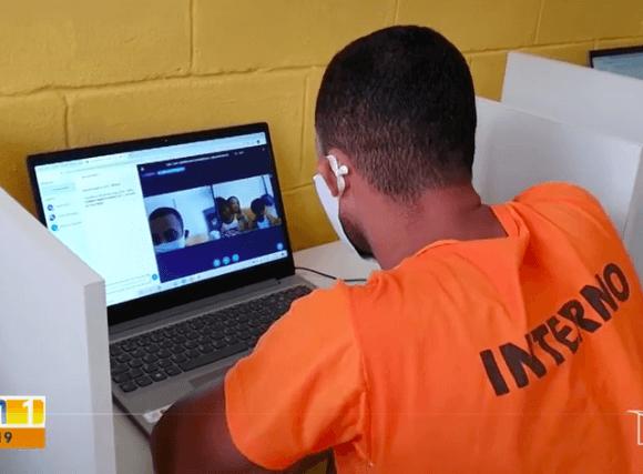 Detentos usam tecnologia para ver familiares no Maranhão –JMTV, 4/7/2020