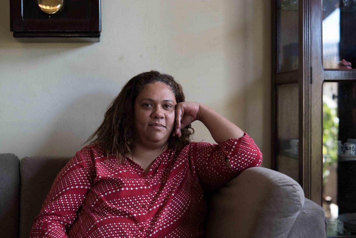 Conozcan a Gláucia, la primera miembro de la cooperativa de H360 que dejó la prisión y continúa trabajando para la marca Tereza