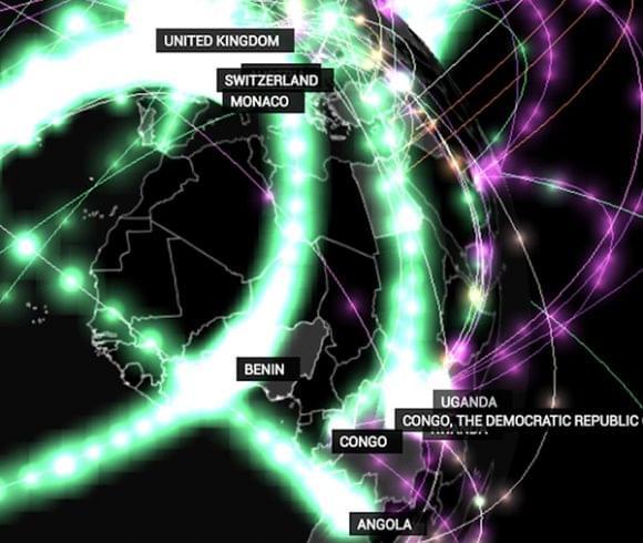 Mapa de las Redes Criminales