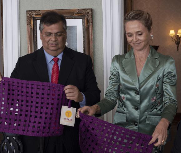 Governador Flávio Dino e presidente do H360 definem detalhes para implantação de cooperativa de detentos no Maranhão