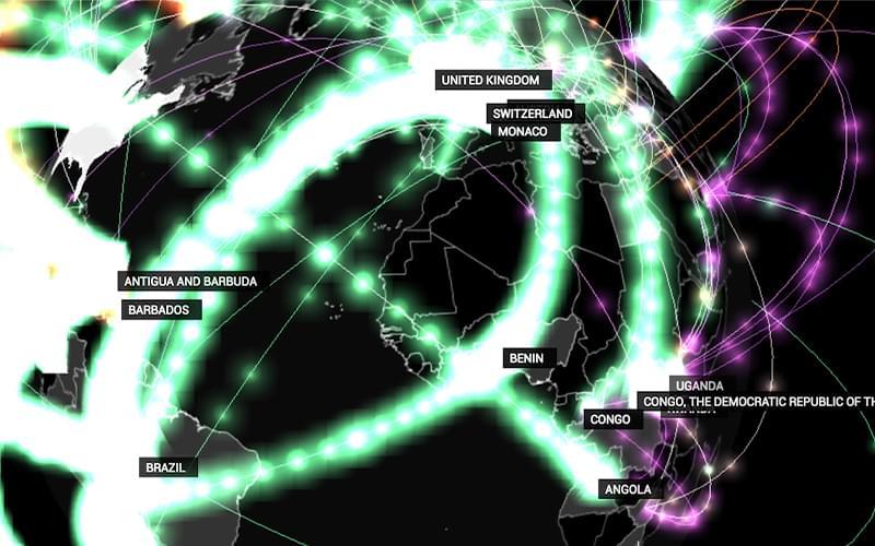 Software de visualização de dados mostra detalhes da rede de corrupção revelada pela Operação Lava Jato em diversos países do mundo